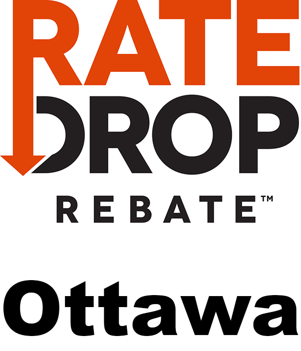 Rate Drop Rebate Ottawa